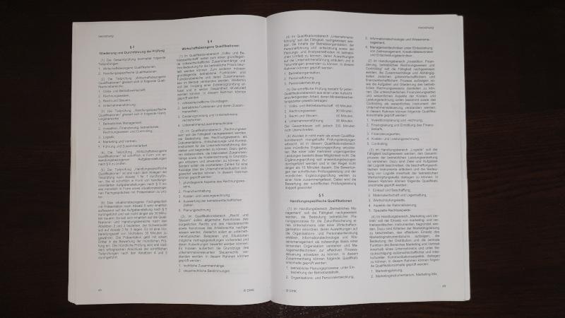 Mündliche Prüfung zum Wirtschaftsfachwirt (IHK): Was steht in der Prüfungsordnung?